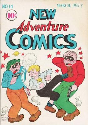 New Adventure Comics #14. Click for values.