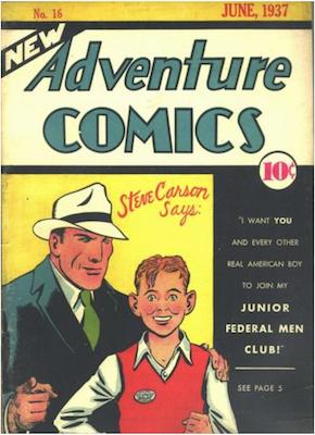 New Adventure Comics #16. Click for values.