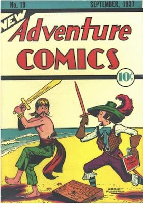 New Adventure Comics #19. Click for values.