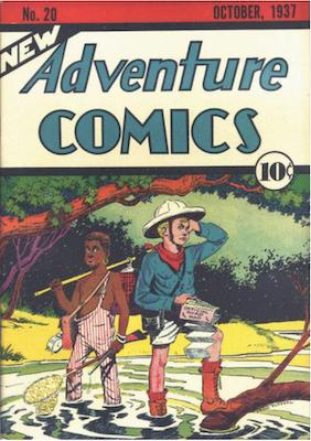 New Adventure Comics #20. Click for values.
