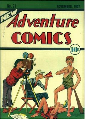 New Adventure Comics #21. Click for values.