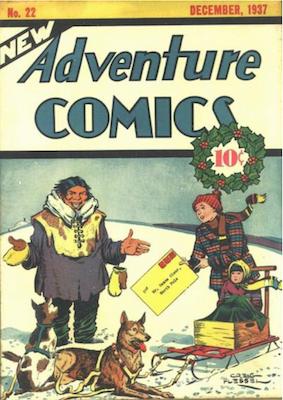 New Adventure Comics #22. Click for values.