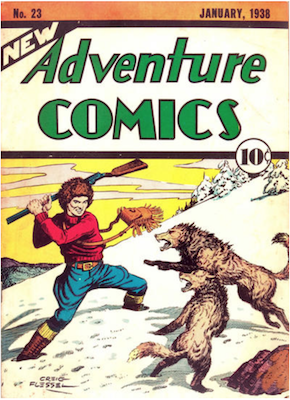 New Adventure Comics #23. Click for values.