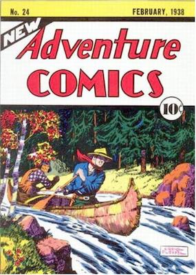 New Adventure Comics #24. Click for values.