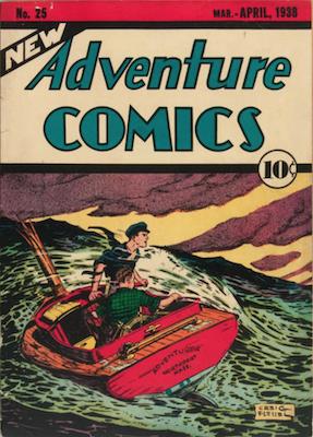 New Adventure Comics #25. Click for values.