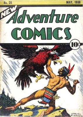 New Adventure Comics #26. Click for values.