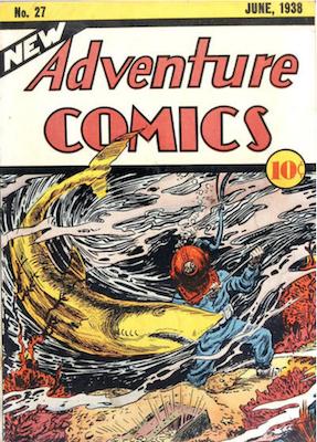 New Adventure Comics #27. Click for values.