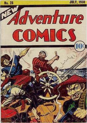 New Adventure Comics #28. Click for values.