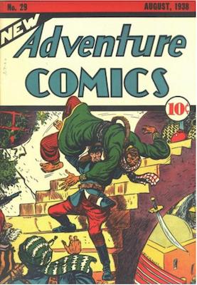 New Adventure Comics #29. Click for values.