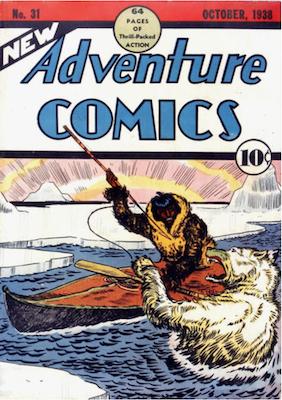New Adventure Comics #31. Click for values.