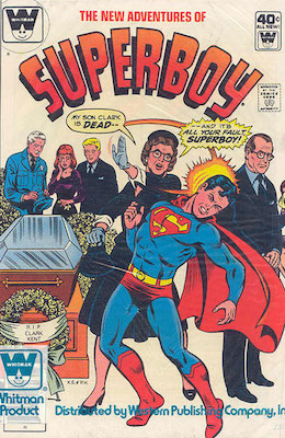 New Adventures of Superboy #8. Click for current values.
