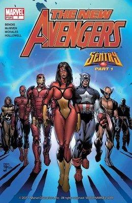 New Avengers #7, 1st appearance of Illuminati. Click for values