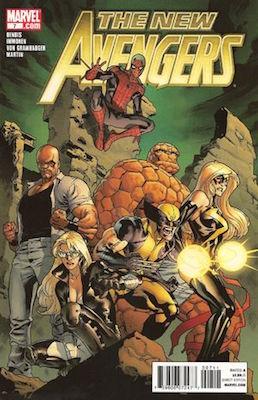 Carol Danvers (Returns as the Heroine, New Avengers Vol. 2 #7, June 2010). Click for value