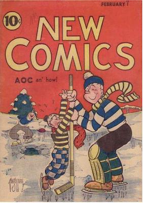New Comics #3. Click for values.