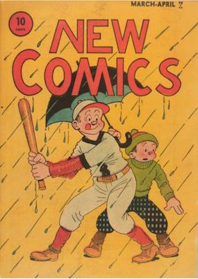 New Comics #4. Click for values.
