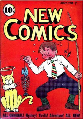 New Comics #6. Click for values.