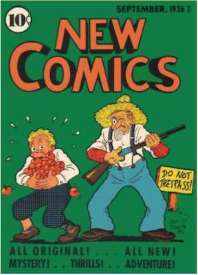 New Comics #8. Click for values.