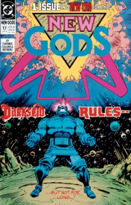 Origin and First Appearance, Yuga Khan, New Gods (vol 2) #17, DC Comics, 1990. Click for value
