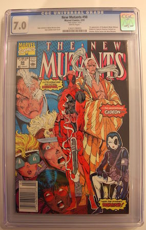 Would you rather own THIS copy of New Mutants #98 in CGC 7.0... OR...