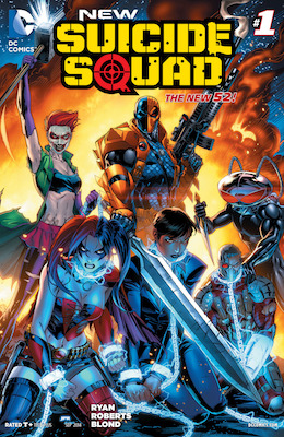 New Suicide Squad #1 (2014) New-Look Squad, Movie Coming. Click for values