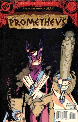 Origin and First Appearance, Prometheus, New Year's Evil: Prometheus #1, DC Comics, 1998. Click for value