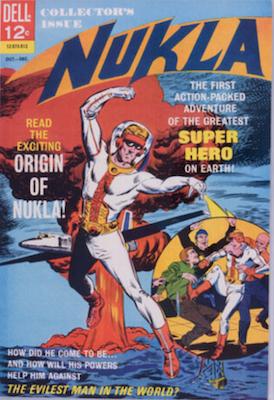 Nukla #1 (1965), Dell Comics. Click for values