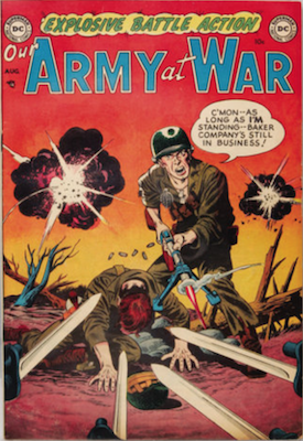 Our Army at War #1. Click for current values.