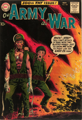 Our Army at War #100. Click for current values.