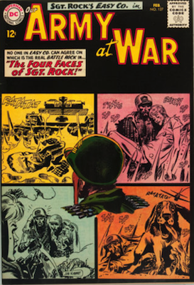 Our Army at War #127: Second all-Sgt. Rock issue; First appearance of Little Sure Shot. Click for values