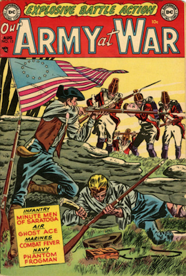 Our Army at War #13. Click for current values.