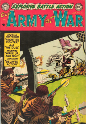 Our Army at War #18. Click for current values.