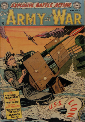 Our Army at War #20. Click for current values.