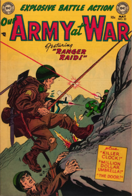 Our Army at War #22. Click for current values.