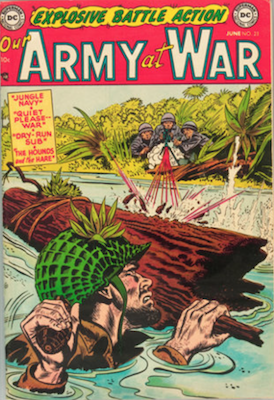 Our Army at War #23. Click for current values.