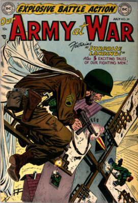 Our Army at War #24. Click for current values.