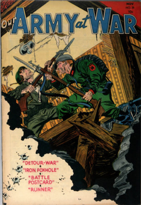 Our Army at War #28. Click for current values.