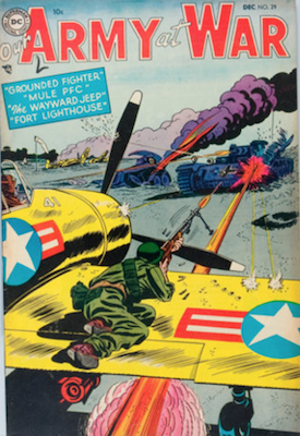 Our Army at War #29. Click for current values.