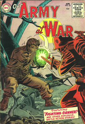 Our Army at War #33. Click for current values.