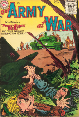 Our Army at War #34. Click for current values.
