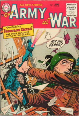 Our Army at War #35. Click for current values.