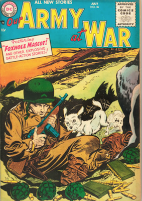 Our Army at War #36. Click for current values.