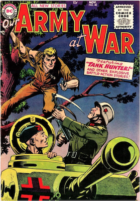 Our Army at War #40. Click for current values.