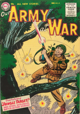 Our Army at War #41. Click for current values.