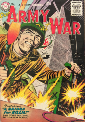 Our Army at War #43. Click for current values.