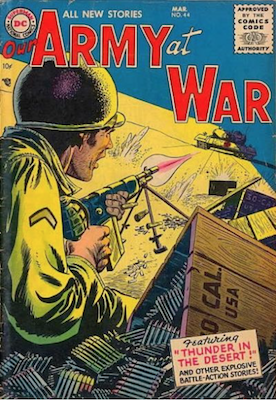 Our Army at War #44. Click for current values.