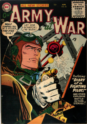 Our Army at War #45. Click for current values.