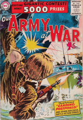 Our Army at War #49. Click for current values.