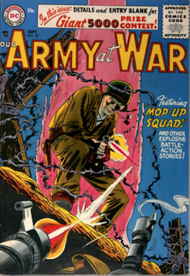 Our Army at War #50. Click for current values.