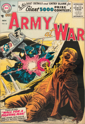Our Army at War #52. Click for current values.