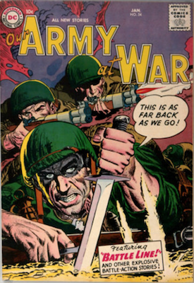 Our Army at War #54. Click for current values.